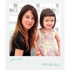Algunas de nuestras clientas son muy jóvenes ;) #blue01stylist #photocall #peluqueriaunise… http://ift.tt/1Gx3trx