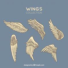 Angel Wings Art, Angel Wings Drawing, Angel Wings Painting, Drawing Sketches, Art Drawings, Art Tips, Drawing Reference, Art Tutorials, Sculpture Art