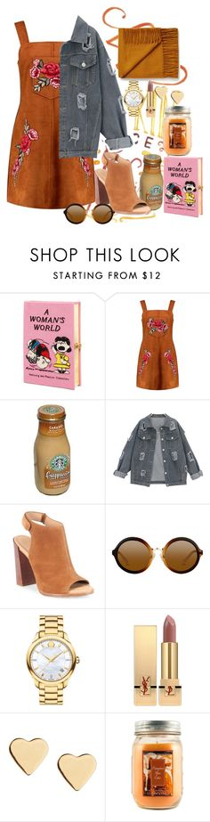 """""""pumpkinspice"""" by ankita-jha ❤ liked on Polyvore featuring Olympia Le-Tan, Boohoo, Michael Kors, Movado, Yves Saint Laurent, Lipsy and Holiday Memories"""