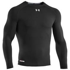 Under Armour UA Heatgear Sonic Compression Long Sleeve Shirt XXL Black #UnderArmour #ShirtsTops