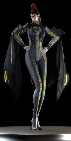 Bayonetta (A Witch With No Memories) by Yare-Yare-Dong on DeviantArt