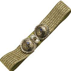 ΠΟΡΠΗ ΜΕ ΖΩΝΗ 40,00 € Bronze Brooches, Greek Costumes, Beaded Bracelets, Belt, Traditional, Larger, Greece, Jewelry, Products
