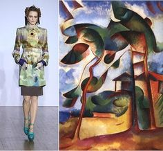 Basso & Brooke for Cubo-Futurism ~ Trend de la Creme - Trends in fashion, style, beauty, design, and popular culture.