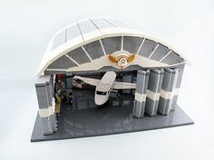 Taking LEGO airports to new heights with a full-scale hangar