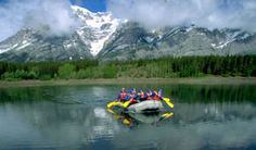 The calm before the rapid storm. Alpine Adventure, Adventure Holiday, Adventure Center, Local Activities, Whitewater Rafting, Canadian Rockies, Banff, Canada Travel, The Locals