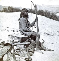 Mohave Indians: In 1871, the Wheeler Survey went 200 miles in 30 days up the Colorado River to the Grand Canyon. Photographer Timothy O'Sullivan photographed many of the Mohave Indians, including Maiman, hired to help the surveyors' journey up the wild river. – Courtesy National Archives and records Administration –