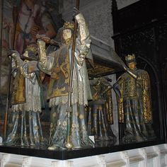 """""""Following the light of the sun we left the old world."""" - Christopher Columbus - Seville Spain - Christopher Columbus' sarcophagus on the shoulders of four kings.  #monument #history #seville #cathedral #religion #spain #andalucia #columbus #sarcophagus #bucketlist #europe #travel #art #arthistory #gold #wealth #travels #instatravel #traveling #travelgram #mytravelgram #igtravel #instatraveling #vacation #tourist #tourism #church #travelblog #traveltheworld #wanderlust by volanttravel"""