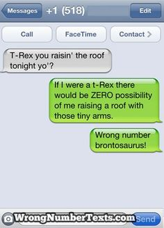 10 Hilarious Wrong Number Texts