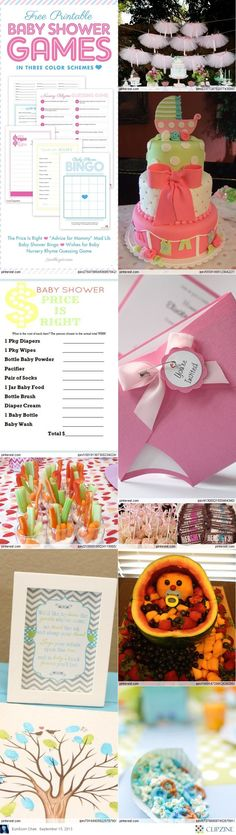 Baby Shower Decorations & Themes-LOVE THE TUTU's and games