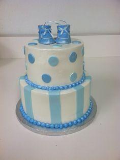 Boy Shower Cake