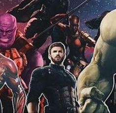 Avengers Infinity war promo art