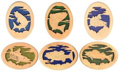 Christmas Scroll Saw Patterns | Fish Scroll Saw Patterns http://www.sheilalandrydesigns.com/product ...