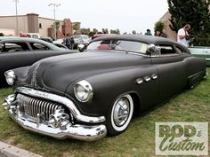 1951 Buick... I don't know if I have met a guy sexier than this car!
