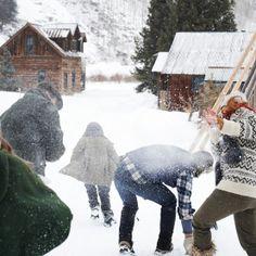 Loving snowfights <3