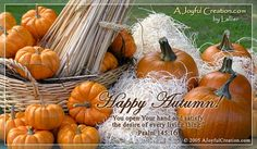 Free Autumn eCard - eMail Free A Joyful Creation Greeting Cards Online