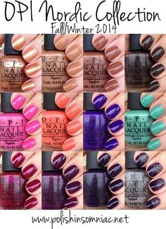 autumn fall winter 2014 opi nail colors - Google Search