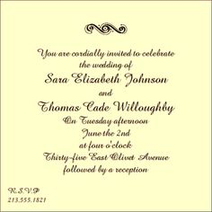 Wedding Invitations Wordings The Specialists Invitation Wording Informal