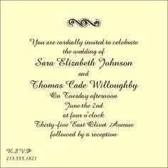 35 Best Wedding Invitation Wording Images