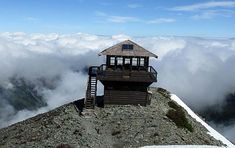 fire lookout tower images | Fire Lookouts of Mount Rainier