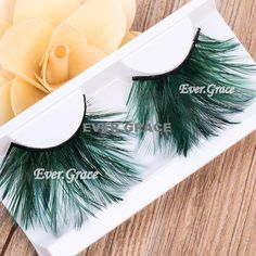 ICYCHEER Fancy Long False Feather Eyelashes Makeup Eye Lashes Party Extension Cosmetics #Affiliate