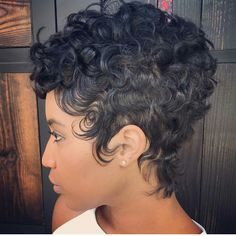 Pictures Of Short Black Hairstyles Impressive Short Purple Hair Cut For The African American Woman #fierce