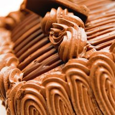 A Sweet and easy recipe for creamy chocolate frosting that pipes well onto cakes or cupcakes.