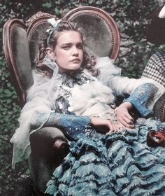 Natalia Vodianova in 'Alice In Wonderland' by Annie Leibovitz for Vogue US December 2003 (featured in Vogue US September 2012)