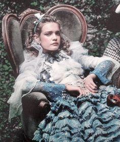Natalia Vodianova in 'Alice In Wonderland' by Annie Leibovitz for Vogue US December 2003 (featured in Vogue US September 2012)