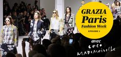 #PFW The first episode of the Fashion Week by Grazia