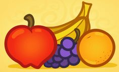 How to Draw Fruit for Kids, Step by Step, Food, Pop Culture, FREE Online Drawing Tutorial, Added by Dawn, June 13, 2012, 9:42:04 am