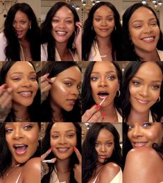 I loved watching Rih's makeup tutorial! I really enjoyed it, she's so cute and funny I hope she does more! #Rihanna ♡