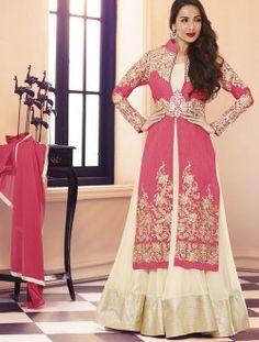 ff2ccfdc93 435370 Beige and Brown color family Bollywood Salwar Kameez