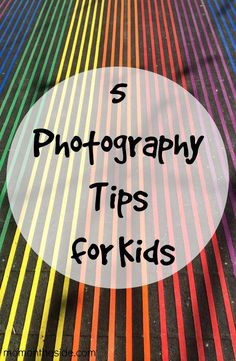 Photography tips for kids from National Geographic Photographer Annie Griffiths.