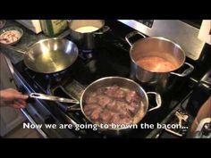 Arroz con Frijoles y Seco de carne - English Subtitled - Rice, Beans & Cilantro Beef Stew - YouTube