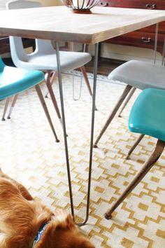 Acute Designs: Ikea Hack - Dining Room Table