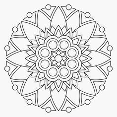 Free Printable Mandala Coloring Pages | Free printable mandala coloring pages