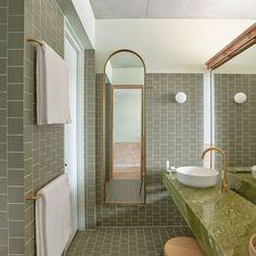 The Calile Hotel, Fortitude Valley, Room, City View, Bathroom Bathroom Photos, Bathroom Inspo, Bathroom Inspiration, Small Bathroom, Bathroom Goals, Master Bathroom, Lobby Bar, Modern Bathroom Design, Bathroom Interior Design