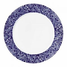 Fable Blue Tree Plate 27cm