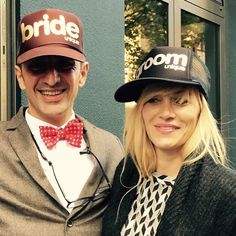 #uniquecaps #truckercaps #frankfurt #fun #fashion #bride #groom #wedding