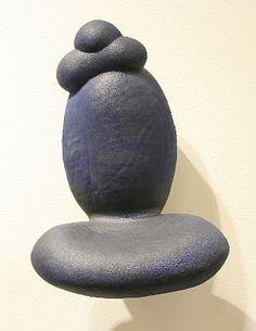 SCOTT CHAMBERLIN muth ceramic sculpture 22 x 15 1/2 x 11 1/2 inches