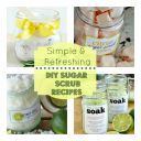 DIY Grapefruit Rosemary Foot Scrub | Spoonful