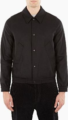 innovative and directional menswear product from the world's most sought-after designers Black Wool, Wool Blend, Menswear, Mens Fashion, Shirt Dress, January, Mens Tops, Inspired, Jackets