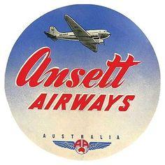 Trans Caribbean Airways   Vintage-Looking  Airline  Sticker//Decal//Luggage Label