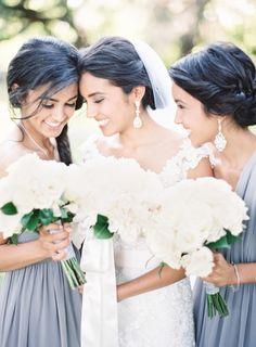 Gabriela & David // New Orleans, LA // Marissa Lambert Photography Bridesmaid Dress Styles, Wedding Bridesmaids, Wedding Dresses, Wedding Pics, Dream Wedding, Wedding Ideas, Wedding Stuff, Wedding Grey, Wedding Beauty