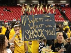 Wheat Will, Wheat Will, SHOCK YOU! #WATCHUS