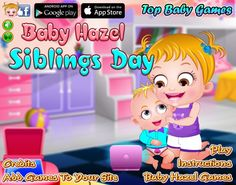 Baby Hazel is excited to celebrate Siblings Day with Matt. Let's join the kids in their celebrations and enjoy fun-filled activities and games with them. http://www.topbabygames.com/baby-hazel-siblings-day.html