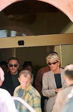 I don't totally buy the media's story on this one, either. The royals resented her b/c she cared about the common folk. Diana walking with Dodi Al Fayed in 1997. One of her last photos. Minutes before her death. Sad.