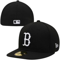 Boston Red Sox New Era League Basic 59FIFTY Fitted Hat - Black - $34.99