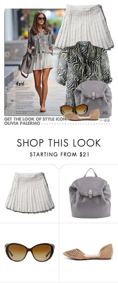"""""""Get the Look: Olivia Palermo"""" by fashion-architect-style ❤ liked on Polyvore featuring Abercrombie & Fitch, Dorothy Perkins, Abro, Bulgari, Breckelle's and Journee Collection"""