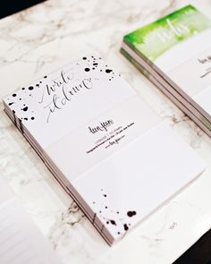 NSS 2016 –Calligraphy and Hand Lettering: Leen Jean / Oh So Beautiful Paper
